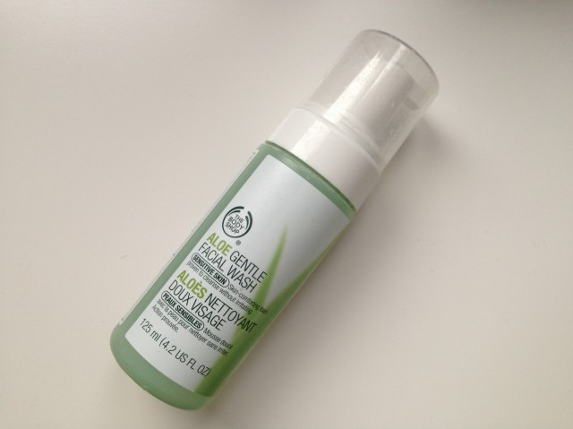 Body Shop Aloe Gentle Face Wash